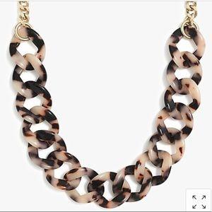 ✨J Crew NWT✨Tortoise Link Necklace